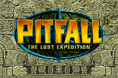 Pitfall - The Lost Expedition Title Screen